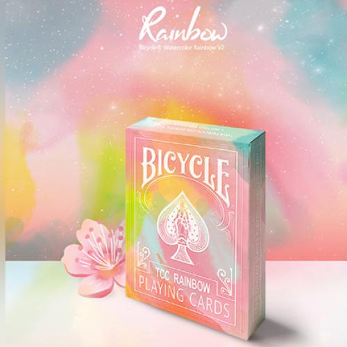 Bicycle Rainbow Deck (Pfirsich)