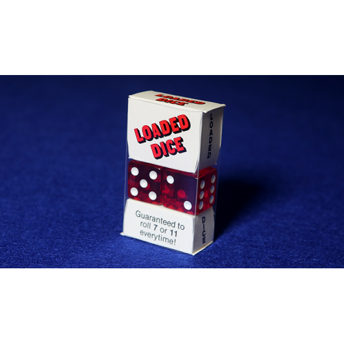 Loaded Dice (Acrylwürfel Rot)