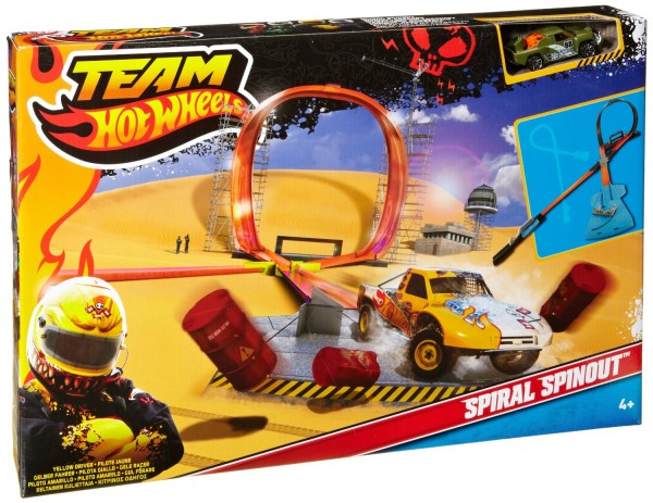 Team Hot Wheels Spiral Spinout