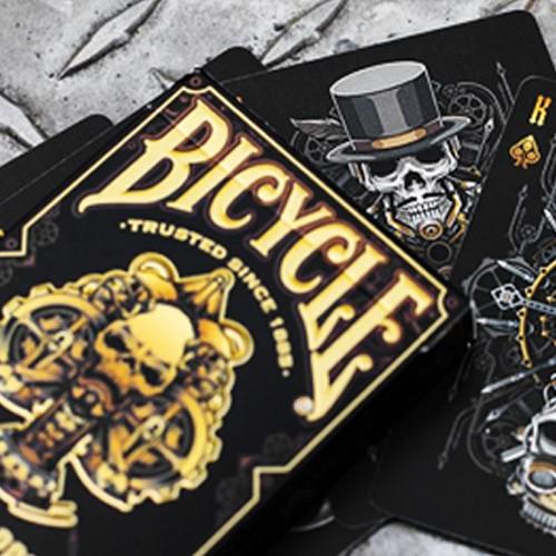 Bicycle Steampunk Bandit Deck (Schwarz)