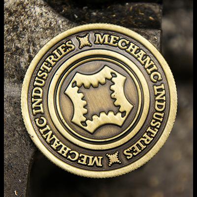 Mechanic Dollar Münze (Bronze)