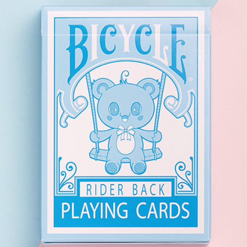 Bicycle Lovely Bear Deck (Hellblau) - Limited Edition