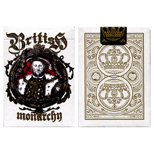 King Henry VIII. British Monarchy Deck (Limited Edition)