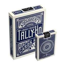 Tally-Ho Circle-Back Deck (Blau)