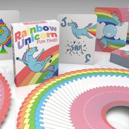 Rainbow Unicorn Fun Time! Deck - Einhorn Spielkarten