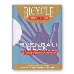 Svengali Deck Bicycle Mandolin - Rot