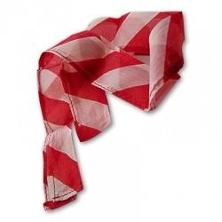 Daumenspitzen-Streamer - Zebra - Rot und Weiss