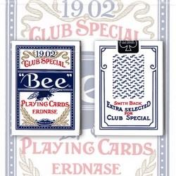 Erdnase 1902 Bee Deck - Blue Smith No. 2 - Cambric Finish