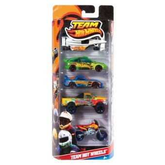 Team Hot Wheels Autos (5er Pack)
