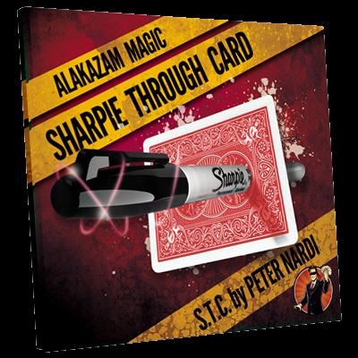 Sharpie Through Card (Rot)