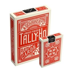 Tally-Ho Fan-Back Deck (Rot)