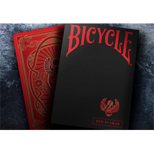 Bicycle Scarab Deck (Rot)