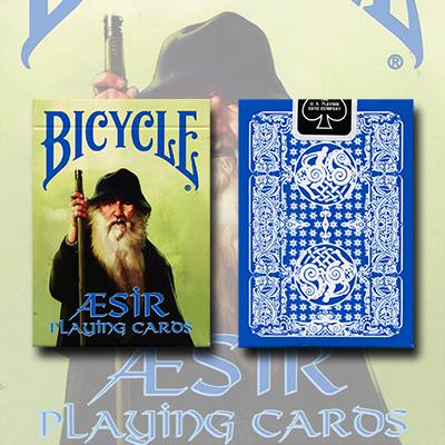 Bicycle AEsir Viking Gods Deck (Blau)
