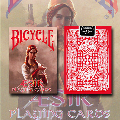 Bicycle AEsir Viking Gods Deck (Rot)