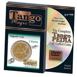 Magnetische Münze - 2 Euro