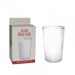 Deluxe Milk Glass