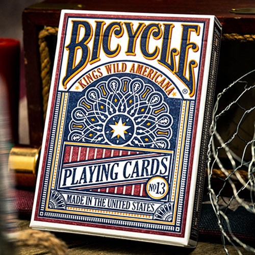 Kings Wild Bicycle Americana Playing Cards