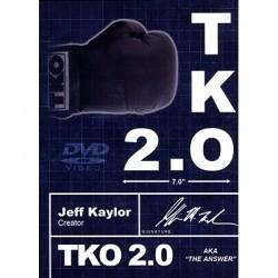 TKO 2.0 - SCHWARZ und WEISS (Buch, DVD und Gimmick)