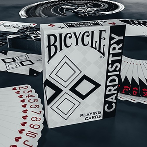Bicycle Cardistry Black and White Deck