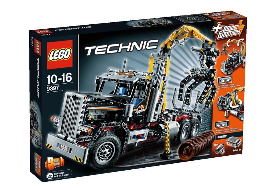 lego technic holztransporter technic lego spielwaren zauberschuppen zaubertricks. Black Bedroom Furniture Sets. Home Design Ideas