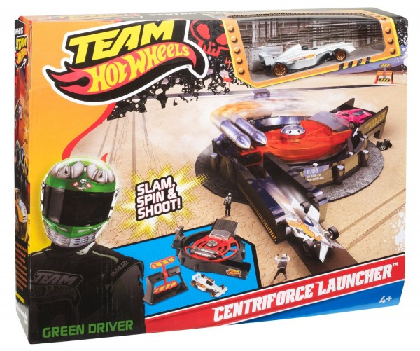 Team Hot Wheels Centriforce Launcher