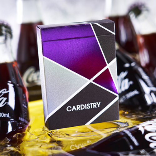 Purple Cardistry Deck