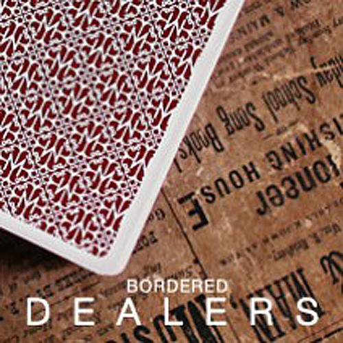 Madison Dealers Deck mit Rand (Rot)