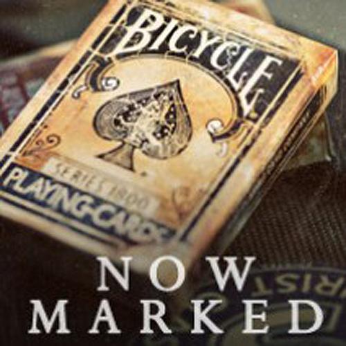 Bicycle Marked Vintage 1800 Deck (Blau)