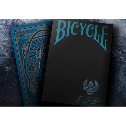 Bicycle Scarab Deck (Blau)