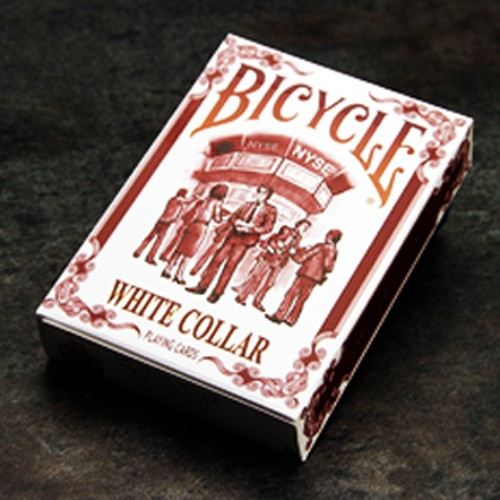 Bicycle White Collar Deck