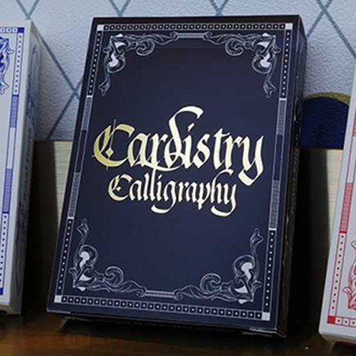 Cardistry Calligraphy Golden Foil Deck (Limited Edition)