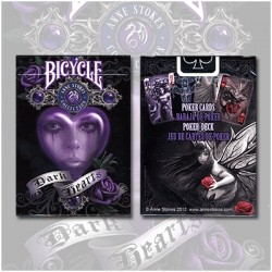 Bicycle Anne Stokes Deck (Dark Hearts)