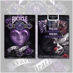 Bicycle Anne Stokes Deck (Dark Hearts)
