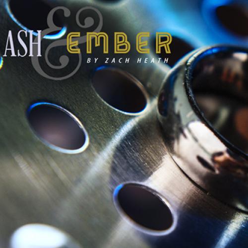 Ash & Ember - 2 Ringe (Silber) Gebogen