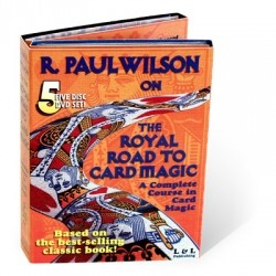 Royal Road to Card Magic - 5er DVD Set