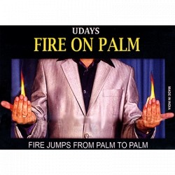 Fire on Palm