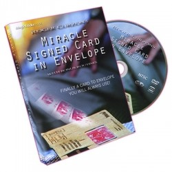 Miracle Signed Card In Envelope