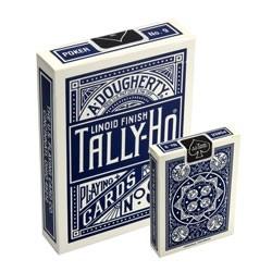 Tally-Ho Fan-Back Deck (Blau)
