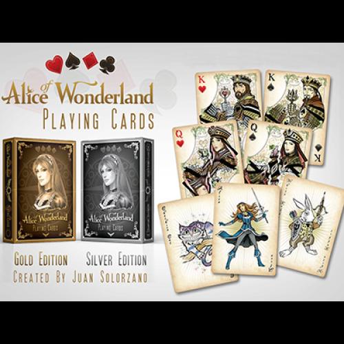 Alice of Wonderland Deck (Silber)