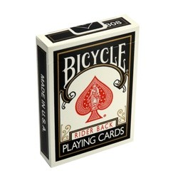 Bicycle Deck (Schwarz)