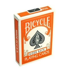 Bicycle Deck (Orange)