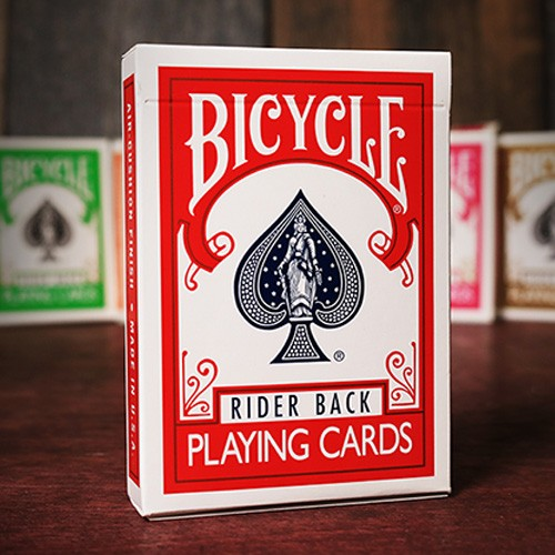 Bicycle Deck (Rot)