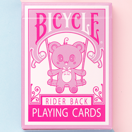 Bicycle Lovely Bear Deck (Pink) - Limited Edition