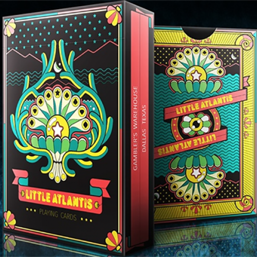 Bicycle Little Atlantis Night Deck