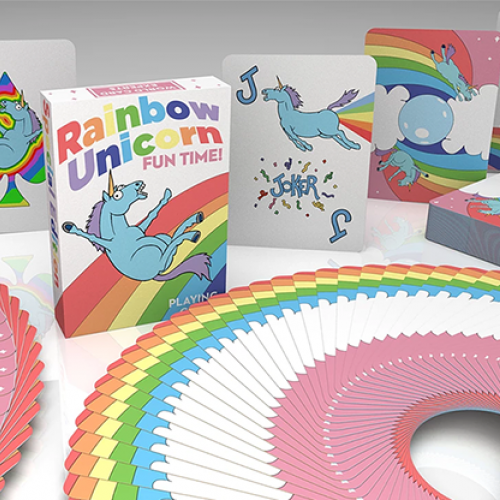 Rainbow Unicorn Fun Time! Deck - Einhorn Spielkarten