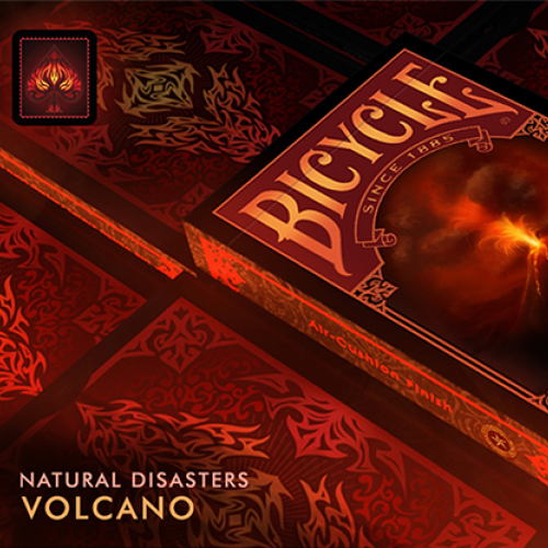 "Bicycle Natural Disasters ""Volcano"" Deck"