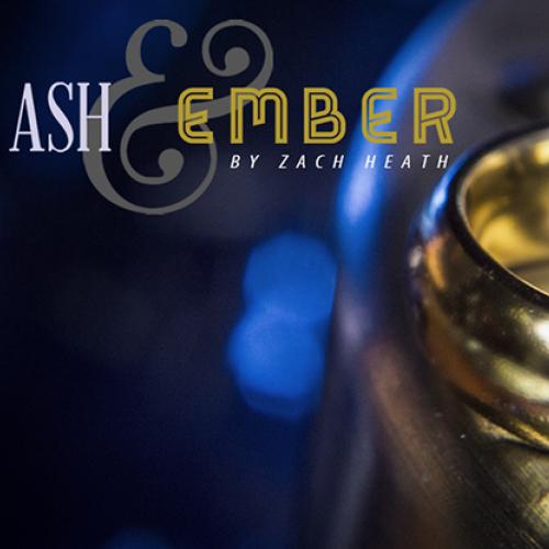 Ash & Ember - 2 Ringe (Gold) Gebogen