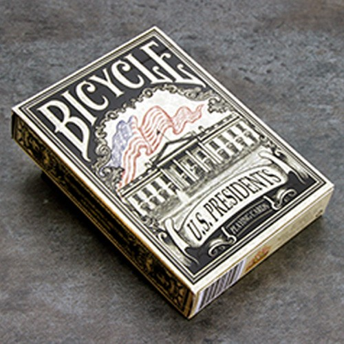 Bicycle US Presidents Deck Schwarz (Limited Edition)